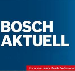 Bosch Aktuell für den 1.5-31.8.2021